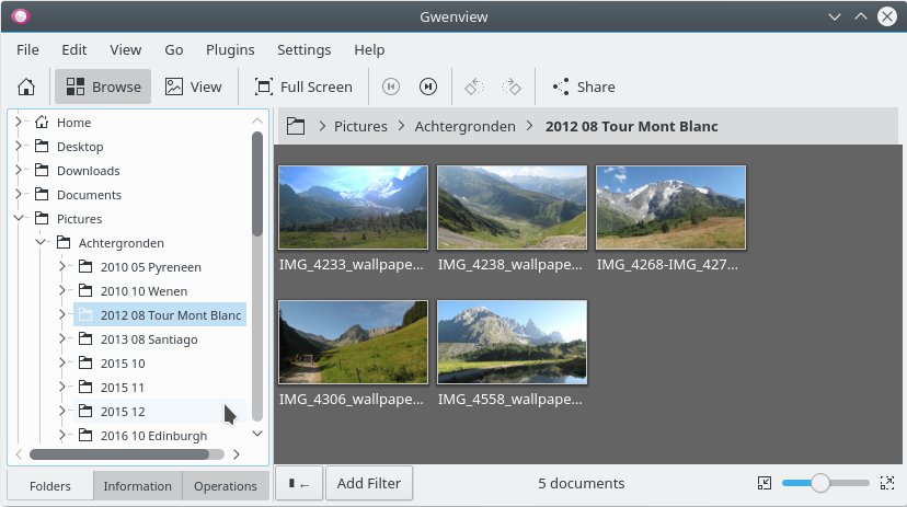 Discovering the Gwenview photo viewer