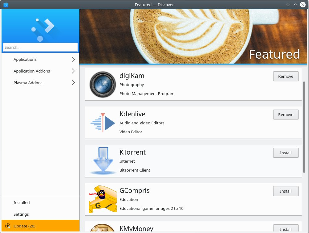 What's new in openSUSE Leap 15 – KDE Plasma 5 12 – FOSS
