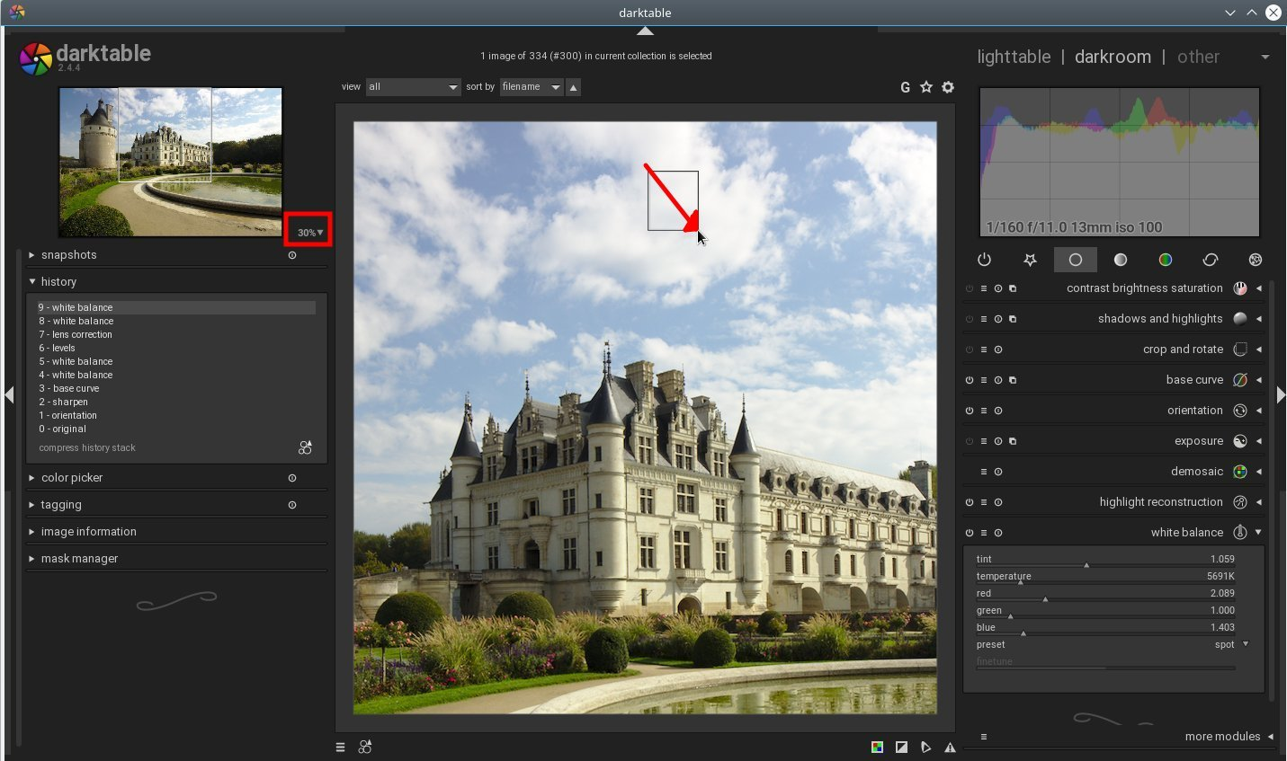 Basic photo editing with Darktable – FOSS adventures