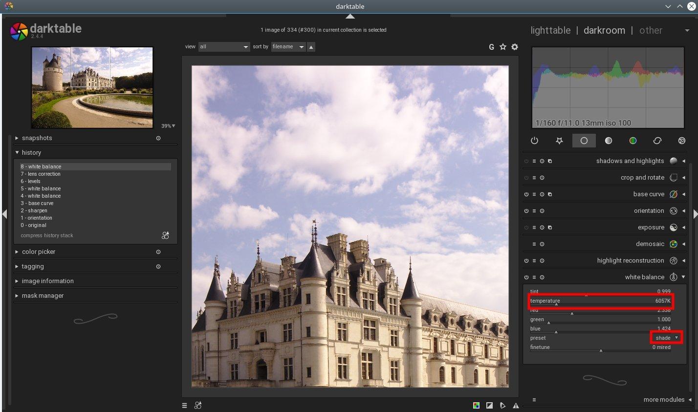 Basic photo editing with Darktable – FOSS adventures