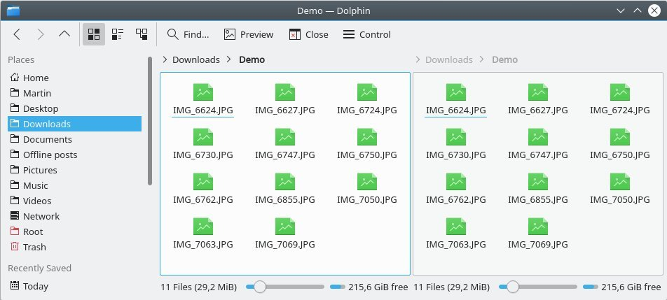 5 best features of the Dolphin file manager